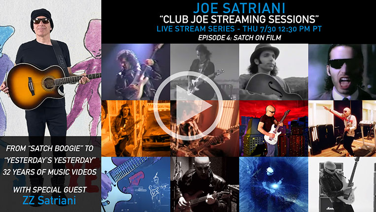 Club Joe Streaming Sessions Episode 4: Satch in Film