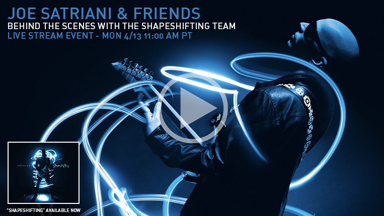 JOE SATRIANI & FRIENDS: Behind The Scenes With The Shapeshifting Team